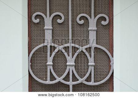 Old doors, handles, locks, lattices and windows