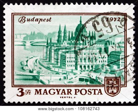 Postage Stamp Hungary 1972 Budapest, Centenary Of Unification