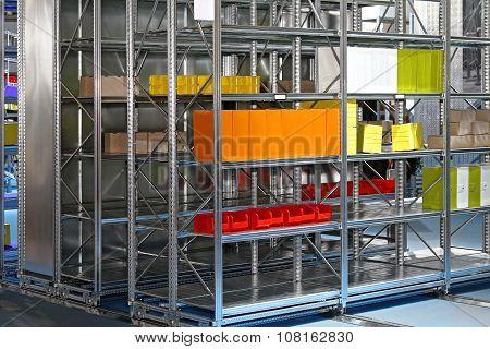 Automated Shelving Storage