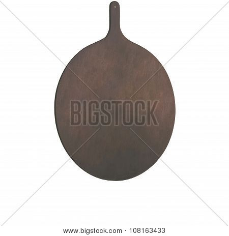 Old Wood Tavern Signboard Isolated On White