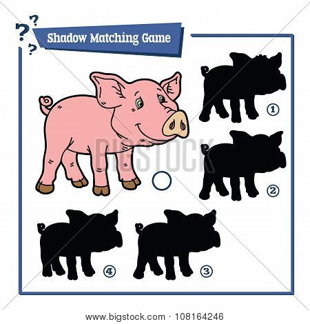 funny shadow pig game.