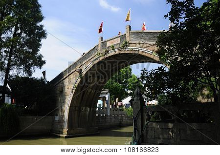 Chinese Style Bridge Suzhou