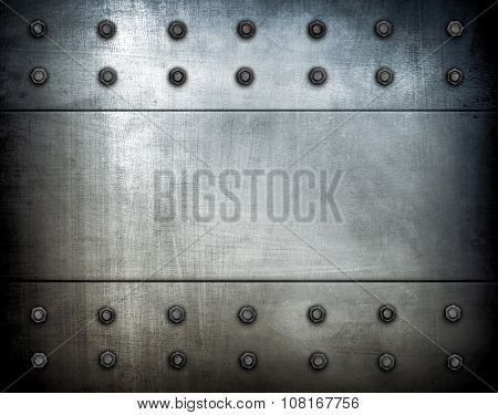 grunge metal template background