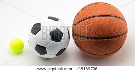 Basketball And Soccer Ball Tennis Ball
