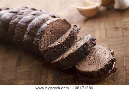 Sliced Juicy Beef Terderloin