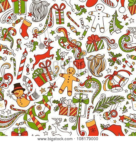 Boundless Funny Christmas Wallpaper.