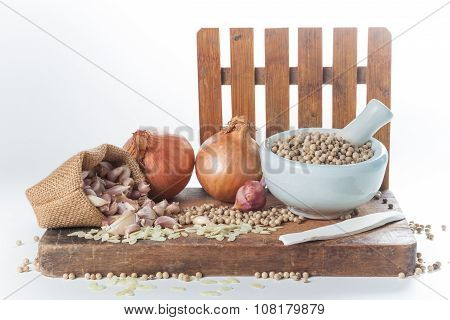 Set Of Cooking Ingredient