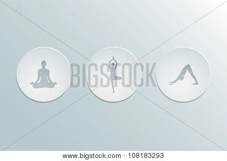 icons yoga asanas