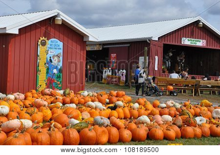 Roba Family Farms in North Abington Township in Pennsylvania