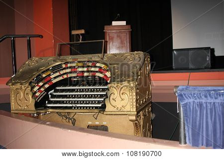 LOS ANGELES - SEP 25:  Page Organ at the Catalina Film Festival Friday Evening Gala at the Avalon Theater on September 25, 2015 in Avalon, CA