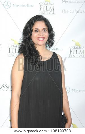 LOS ANGELES - SEP 25:  Rashmi Lekhi at the Catalina Film Festival Friday Evening Gala at the Avalon Theater on September 25, 2015 in Avalon, CA