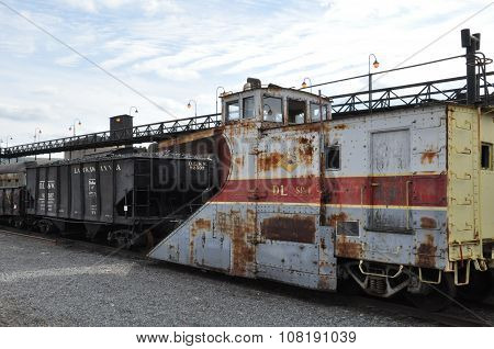 Steamtown National Historic Site in Scranton, PA