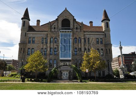 Lackawanna County Courthouse in Scranton, Pennsylvania