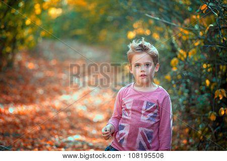 Boy Portrait Outdoor