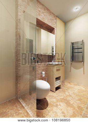 Bathroom Loft Style
