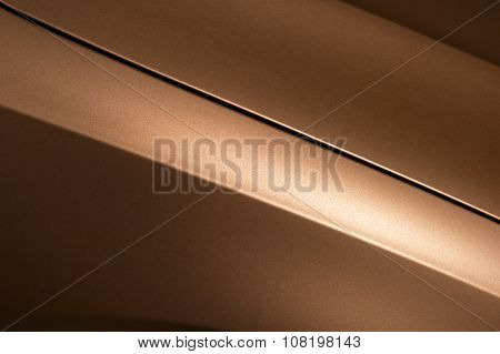 Bronze car bodywork