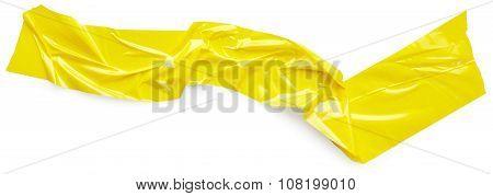 Yellow Adhesive Tape
