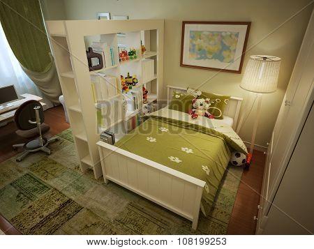 Children's Room For Boy Modern Style
