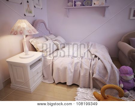 Baby Bed For Girls Classic Style