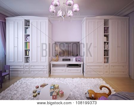 Children's Room For Girls Classic Style