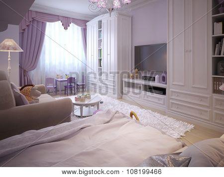 Children's Room For Girls Classic Style