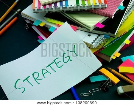 Somebody Left The Message On Your Working Desk; Strategy