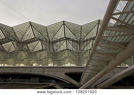 Roofing Detail Of Oriente Station