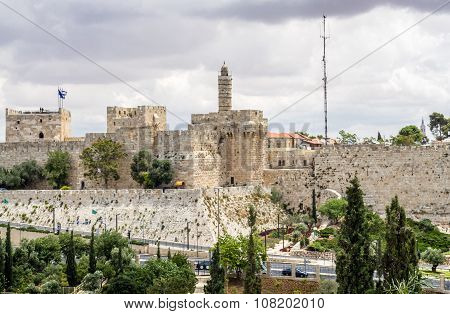 The Tower Of David, Jerusalem