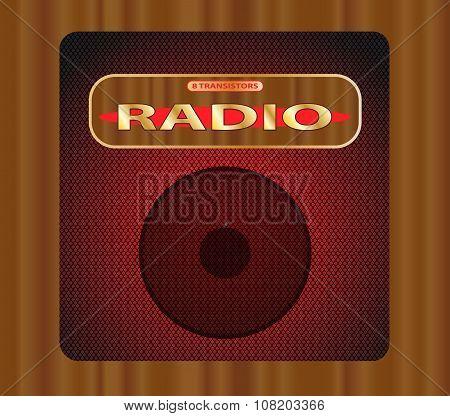 Old Transistor Radio.