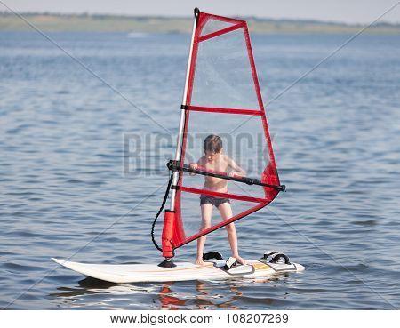 Windsurfing For Little
