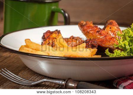 Roasted Chicken.