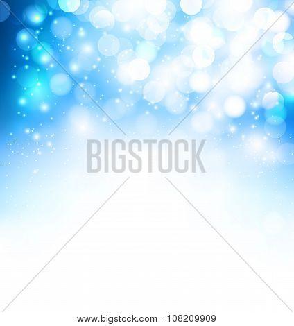 Brilliant Blue Background