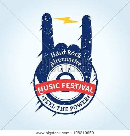 Rock And Roll Festival Label