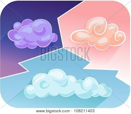 Cartoon Clouds 2
