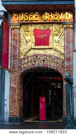 The Grevin Museum, Paris, France.
