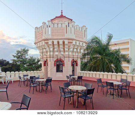 Terrace In Cuba