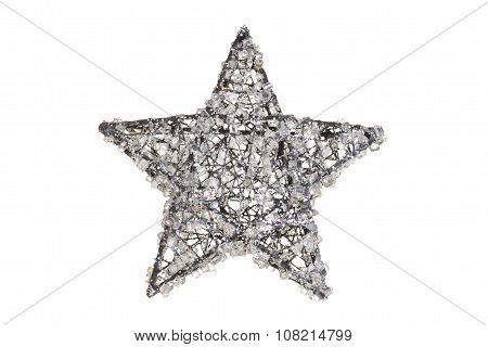 crystal christmas star