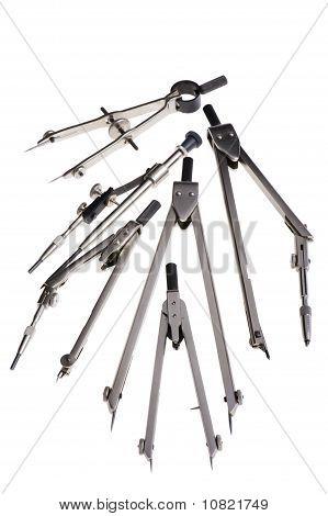 Set Of Drafting Instrument