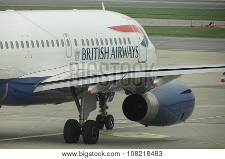 British Airways Aircraft