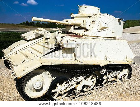 Vickers Light Tank Mk. Vib. Latrun, Israel