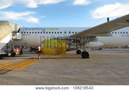 Vueling Airplane