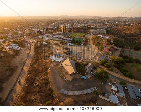 Windhoek aerial photo, Namibia