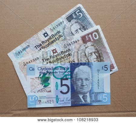 Scottish Pound Notes