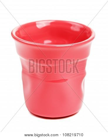 Red Espresso Cup