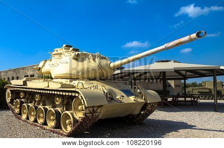 M47 E1/e2 Patton Main Battle Tank . Latrun, Israel