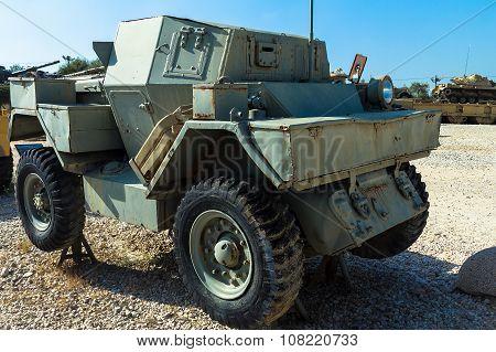 Scout Car Ford Mk. 1, Lynx 1. Latrun, Israel