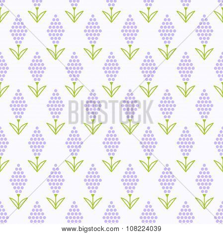 Lavender flower pattern