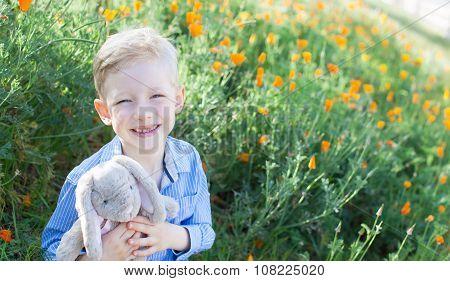 Boy At Spring