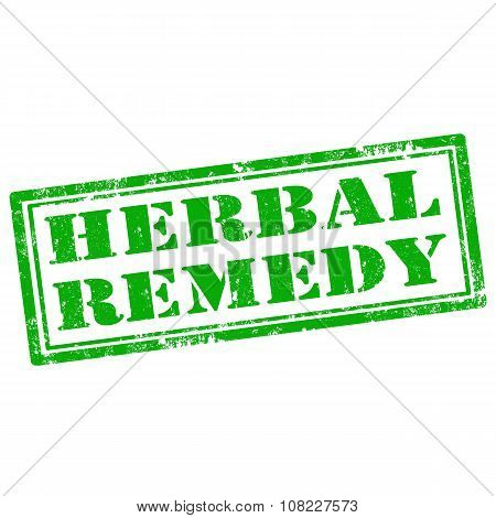 Herbal Remedy-stamp