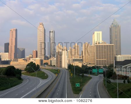 Atlanta Skyline Morgen